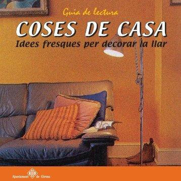 Coses de casa - Biblioteques Municipals de Girona