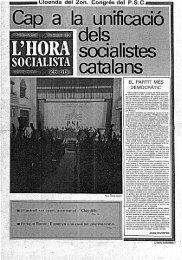 l'hora socialista - Atipus