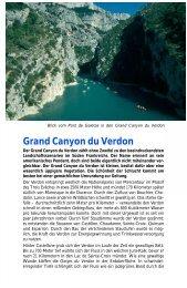 Grand Canyon du Verdon - WEINBUECHER.de