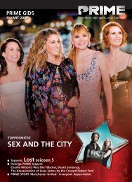 prime gids maart 2009 sex and the city - Telenet