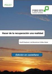 Hacer de la recuperación una realidad Edición en castellano