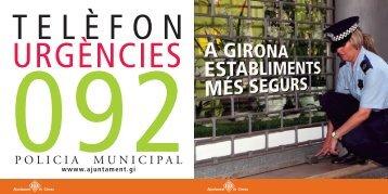 POLICIA MUNICIPAL - Ajuntament de Girona