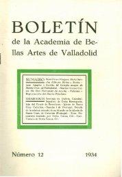 Boletín número 12 formato PDF - Real Academia de Bellas Artes de ...