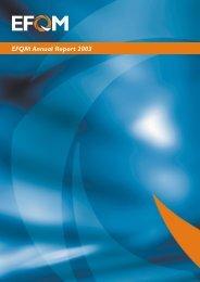 EFQM Annual Report 2003