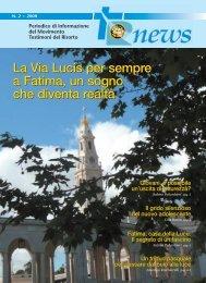 La Via Lucis per sempre a Fatima, un sogno che diventa realtà La ...