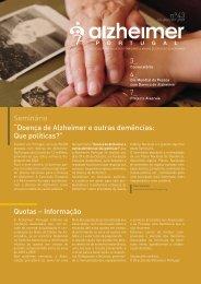 Boletim: Abr / Jun 2009 - Alzheimer Portugal