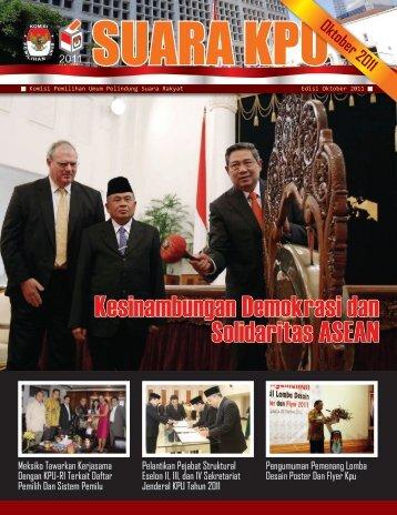 Suara KPU Bulan Oktober 2011