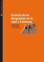 Evolució de les desigualtats en la salut a Catalunya - Fundació ...