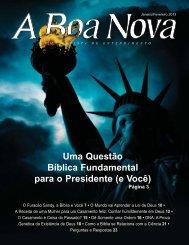 Janeiro/Fevereiro 2013 - A Boa Nova - Uma revista de entendimento