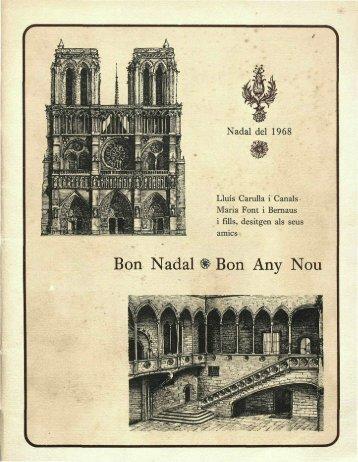 Nadala_1968_parlaments de Pau Claris i de Pau Duran a l ...