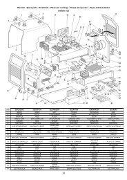 Ricambi - Spare parts - Ersatzteile – Pièces de rechange ... - Elettro CF