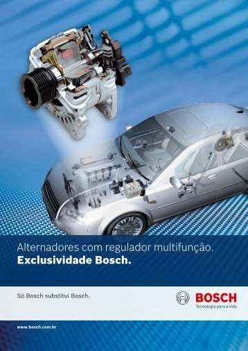 Folder Técnico de Reguladores Multifunção - Bosch