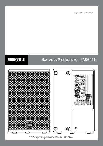 Download do Manual de Operação - Nashville
