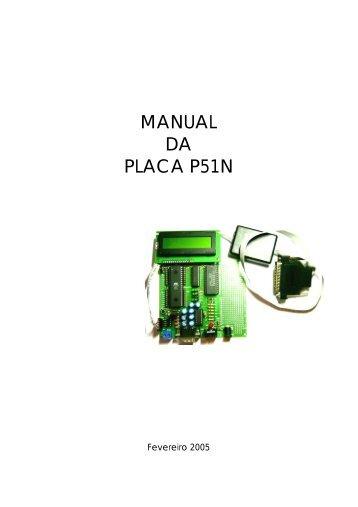 MANUAL DA PLACA P51N - UTFPR