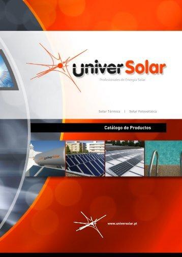 Catálogo de Productos - Universolar