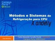 Metodos e Sistemas de Refrigeracao para CPU - OverBR