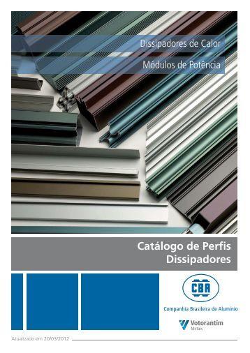 Catálogo CBA - Dissipadores - Versão ... - Votorantim Metais