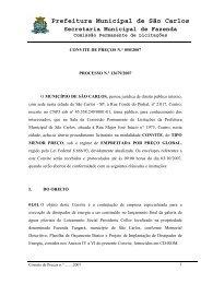Convite de Preços 050_2007 _ Dissipador de Energia_ - Prefeitura ...