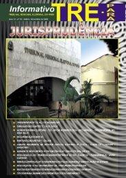 Informativo TRE dezembro 2009.indd - Justiça Eleitoral - Tribunal ...