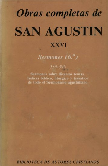 Obras completas de SAN AGUSTÍN - 10
