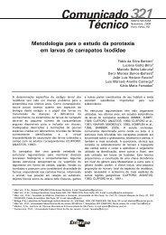 Metodologia para o estudo da porotaxia em larvas de carrapatos ...