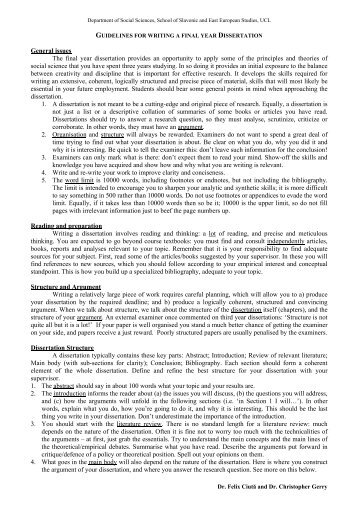 ssees history dissertation guidelines