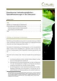 Dauerbrenner Verbriefungsdefinition ... - 1 PLUS i GmbH