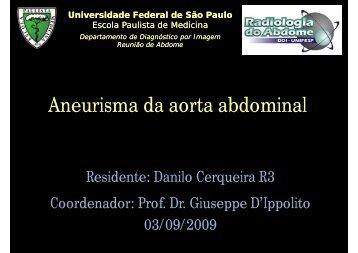 Aneurisma da aorta abdominal - (DDI) - UNIFESP