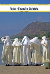 Volume 10 - Issue 1, February 15, 2008 - Lake Chapala Review