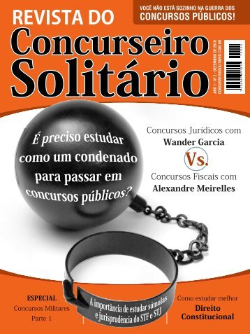 Revista do Concurseiro Solitário