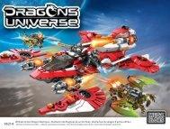 95214 Ultimate Action Dragon Destroyer • Destructor de dragones ...