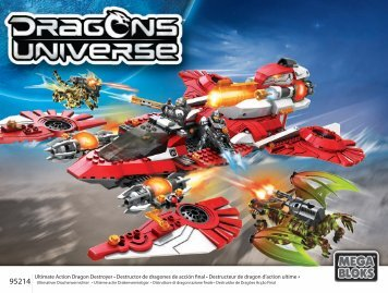 95214|Ultimate Action Dragon Destroyer • Destructor de dragones ...