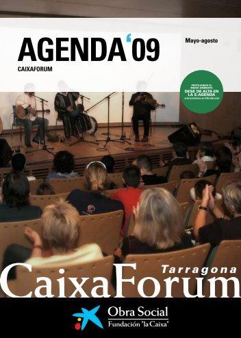 """CAIXAFORUM Mayo-agosto - Obra Social """"la Caixa"""""""