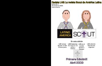 Primera Edición!!! Abril 2009 - Grupo Scout San Patricio