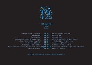 curriculum vitae - Paco Santana