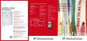 """Triptic_Sala_Català A5 - Obra Social """"la Caixa"""""""
