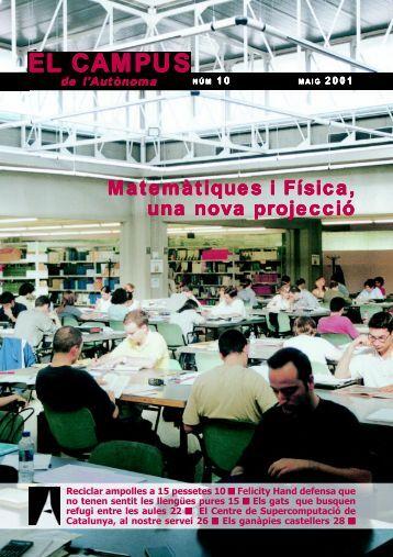 EL CAMPUS - Universitat Autònoma de Barcelona