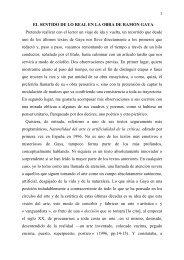 El sentido de lo real en la obra de Ramón Gaya - ricardotejada
