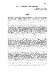 A Educação de D. Pedro II, Imperador do Brasil. - Faced.ufu