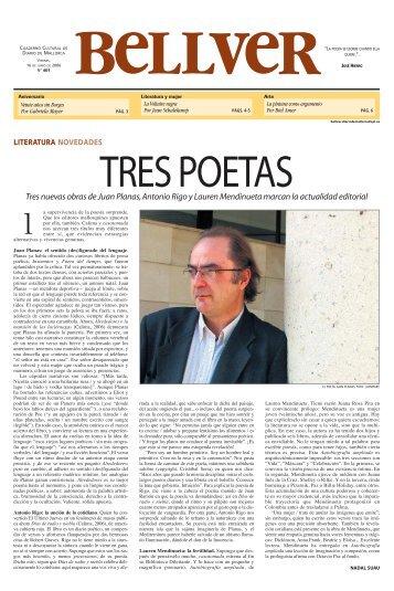 tres poetas - Diario de Mallorca