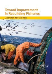 Toward Improvement In Rebuilding Fisheries