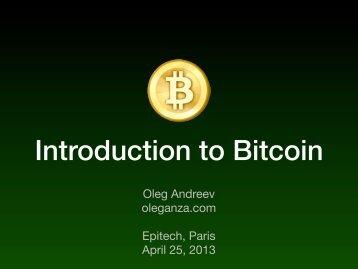 bitcoin-epitech