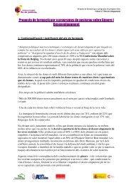 Proposta de formació per a programes de postgrau sobre Gènere i ...
