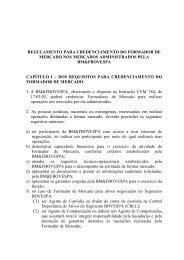 Regulamento para Credenciamento do Formador ... - BM&FBovespa