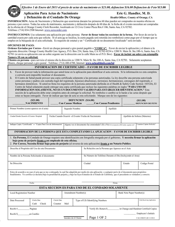 Único Actas De Nacimiento Del Condado De Summit Viñeta - Cómo ...
