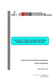 manual llenado certificado defunción - Gerencia Regional de Salud ...