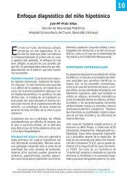 Enfoque diagnóstico del niño hipotónico - Asociación Española de ...