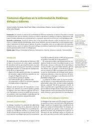 Trastornos digestivos en la enfermedad de Parkinson: disfagia y ...