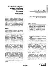 Prevalencia de la deglucion atipica en pacientes que solicitan ...