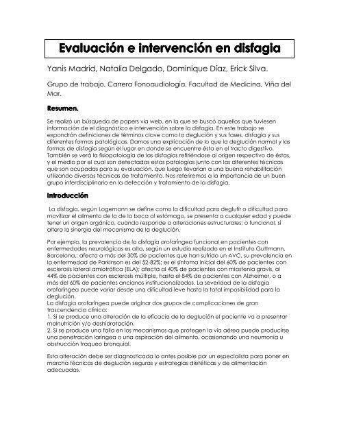 Dieta para disfagia pdf